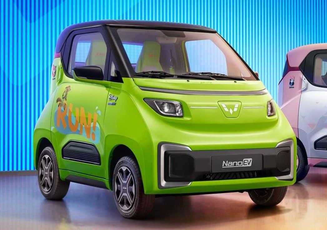 Wuling Nano EV - новый электромобиль