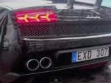 Дрифт на Lamborghini Gallardo LP550-2 Tricolore (видео)