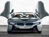 Новый кабриолет BMW i8 Spyder Concept: фото, характеристики, цена