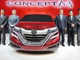 Минивэн Honda M Concept 2014 (фото, видео)
