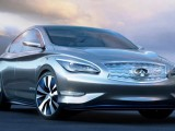 Электромобиль Infiniti LE Concept 2014: фото, видео