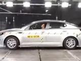 Краш-тест новой Kia Optima 2012 (видео)