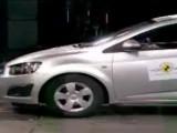 Новый Chevrolet Aveo 2012 краш-тест (видео)