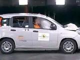 Краш-тест нового Fiat Panda 2012 года (видео)