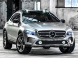 Концепт кроссовера Mercedes GLA 2013 (фото, видео)
