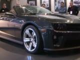 Новый Chevrolet Camaro ZL1 2013 (видео)