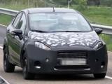 Новый седан Ford Fiesta на испытаниях (фото)
