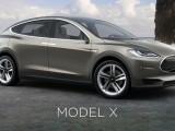 Первые фото электромобиля Tesla Model X SUV 2016