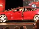 Видео презентации Tesla Model S 2012