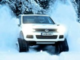 Volkswagen Snowareg на гусеницах Mattracks (фото)