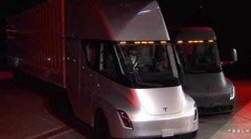 Новый электрогрузовик Tesla Semi 2020 (фото, цена, характеристики)