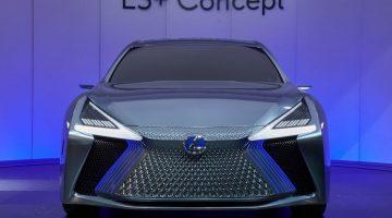 Прототип Lexus LS+ 2017 показали в Токио (фото, видео)