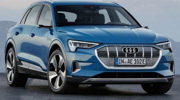 Электромобиль Audi E-tron (фото, цена, запас хода)