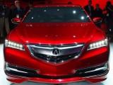 Подробности о седане Acura TLX Concept 2014