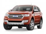 Новый рамный внедорожник Ford Everest 2016