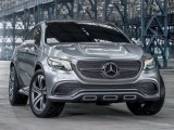 Кроссовер Mercedes-Benz Coupe SUV Concept 2014 (фото, видео)