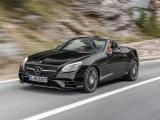 Озвучены цены на родстер Mercedes SLC 2016 – 2017 (фото, видео)