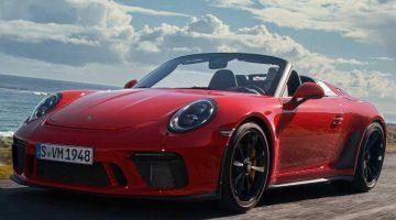 Представлен новый Porsche 911 Speedster 2020 (цена, фото, видео)