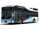 Toyota рассекретила водородный автобус FC Bus (фото)
