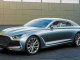 Представлено концептуальное купе Hyundai Vision G (фото, видео)