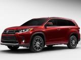 Рассекречен рестайлинговый Toyota Highlander 2017 (фото, цена)