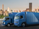 Концепт электрогрузовика E-Fuso Vision One EV Truck 2017 (фото, видео)