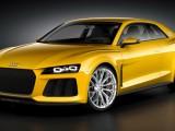 Гибридное купе Audi Sport Quattro Concept 2013