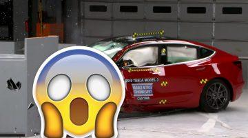 Краш-тест Tesla Model 3 удивил всех!!! (видео)
