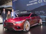 Новый Mercedes-AMG GT Concept 0017 — напарник Porsche Panamera (фото, видео)