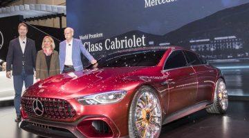 Новый Mercedes-AMG GT Concept 2017 — конкурент Porsche Panamera (фото, видео)