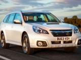 Subaru Outback 2014 с дизельным двигателем и вариатором CVT