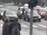 Водитель — хулиган (видео)